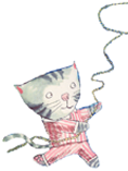 Cat with lasso